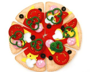 felt pizza set
